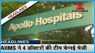 HEADLINE 11  Prays Continue In Front Of Apollo Hospital Continue For JJayalalitha In Chennai