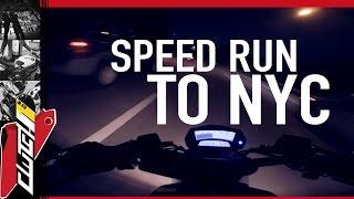Speed Run To New York City [Night Ride]