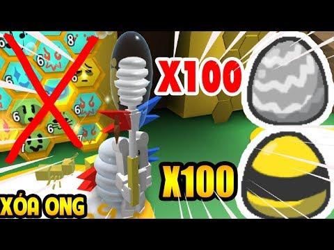 OK Mình Xin Nghĩ Game Xóa Hết Ong | Roblox Bee Swam Simulator | MinhMaMa