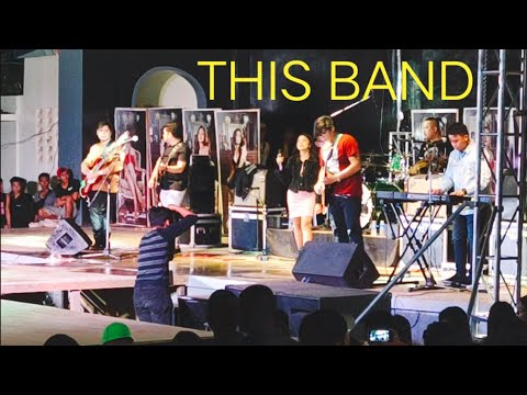 THIS BAND (LIVE) in CATARMAN FREEDOM PARK (PEOPLE'S CROWD!)