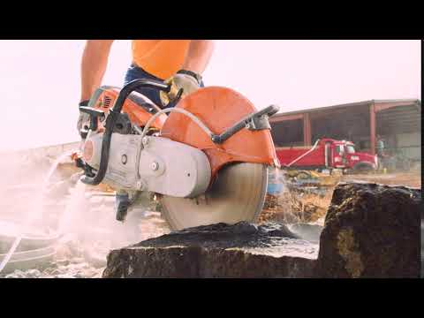 Stihl TS 800 Cutquik in Ogallala, Nebraska - Video 2