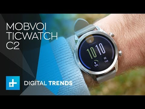 Mobvoi TicWatch C2 - Hands On Review
