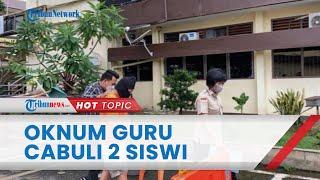 Detik-detik Oknum Guru PNS di Medan Cabuli 2 Siswi SMK di Hotel dan Jalan Tol, Aksinya Terekam CCTV