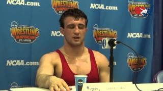 Gabe Dean (Cornell) after making 2015 NCAA Finals at 184 pounds