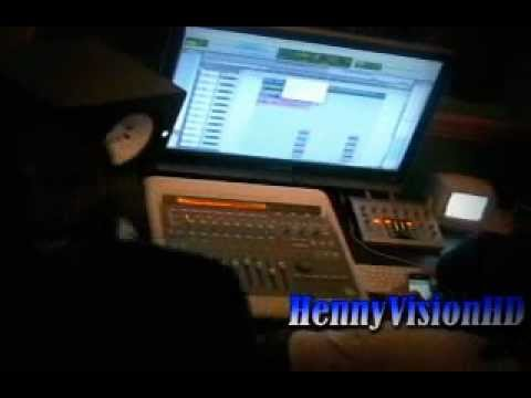 HMG Porter Rich and RichMan Cannon collaborate in studio.wmv