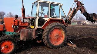 Продам Экскаваторную установку на трактор ЮМЗ.
