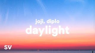 Joji & Diplo - Daylight (Lyrics)