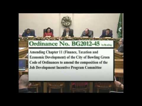 12/18/12 Board of Commissioners Regular Session