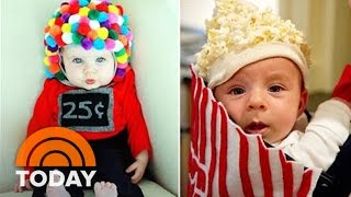 Baby Popcorn Bucket And Other Last-Minute DIY Halloween Costumes For Kids | TODAY
