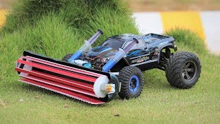 How to make a Harvester - car - Amazing Ideas