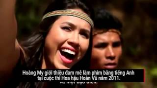 Những người đẹp Việt nói tiếng Anh lưu loát