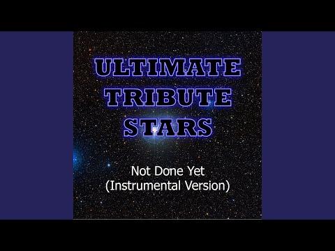 Soja - Not Done Yet (Instrumental Version)