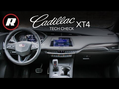 Tech Check: CUE in the 2019 Cadillac XT4