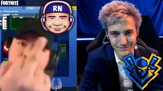 AlexRamiGaming Talks Smack On Ninja And His Tournament Live!