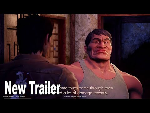Shenmue 3 - New Trailer Magic 2019 Ryo and Master Direct-Feed [HD 1080P]