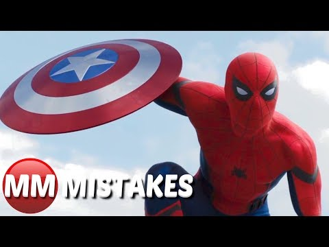 Spiderman Homecoming MOVIE MISTAKES You Didn't Notice | Spiderman Goofs