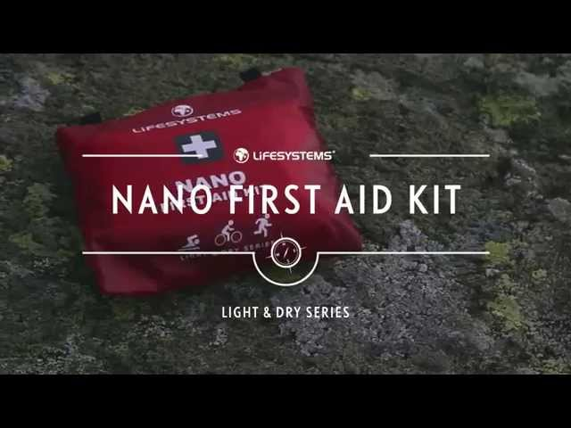 Видео Аптечка Lifesystems Light&Dry Nano First Aid Kit
