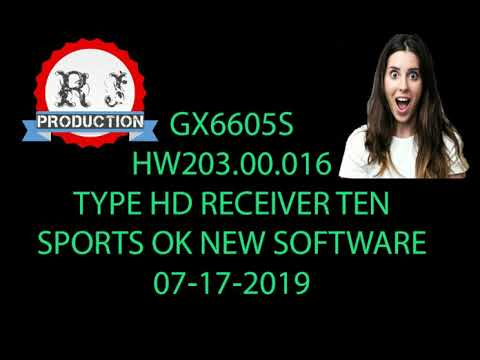 GX6605S HW203 00 017 PowerVU Key New Software With STARSAT