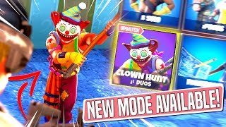 *NEW GAMEMODE* CLOWN HUNT Custom Gamemode in *SEASON 6* Fortnite Battle Royal! (NITE NITE CLOWN!)