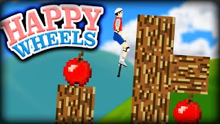 MINECRAFT WHEELS !! | Happy Wheels #121