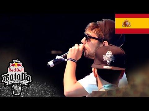 Zasko vs Ante - Semifinales - Barcelona - Red Bull Batalla de los Gallos 2015 (Oficial)
