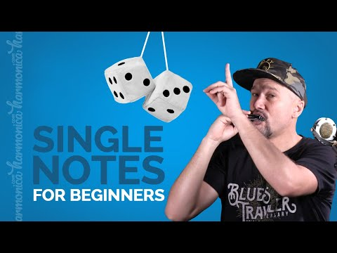 """Harmonica Single Notes for Beginners (+ Learn """"Low Rider"""")"""