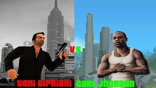 Toni Cipriani Vs Carl Jhonson ¿Quien Es Mejor?
