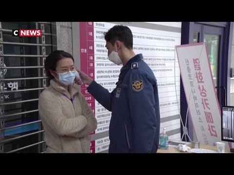 Coronavirus : une secte sud-coréenne à l'origine de centaines de de cas de contamination Coronavirus : une secte sud-coréenne à l'origine de centaines de de cas de contamination