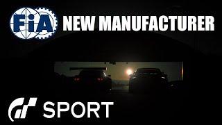 GT Sport FIA New Manufacturer Choice