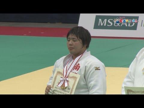 女子78kg超級決勝 平成30年選抜体重別大会