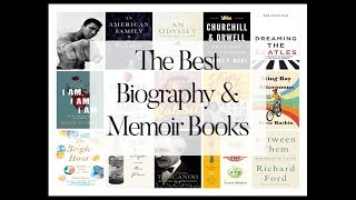 The Best Biography And Memoir Books And Audiobook  | Best Biographies Books 2019