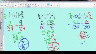 1.2 - Arithmetic & Properties of Real Numbers
