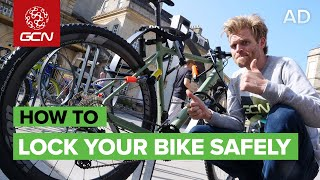 How To Lock Your Bike Securely | Urban Cycle Security Tips