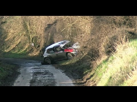 Haspengouw rally 2017 crash mistakes  flat out