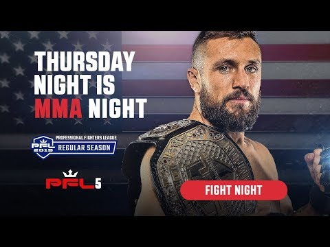 PFL5 | 2019 Live at Ocean Resort Casino in Atlantic City, NJ