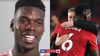 """When I'm happy, I play better!"" | Paul Pogba on Man Utd dressing room & Ole Gunnar Solskjær"