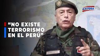 """""""EN EL PERÚ NO HAY TERRORISTAS, LO QUE HAY ES NARCOTRÁFICO"""""""