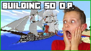 Building So O.P.  The Best Pirate Ship In The WORLD!!!