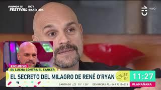La milagrosa lucha de René O'Ryan para combatir el cáncer - La Mañana (1/4)