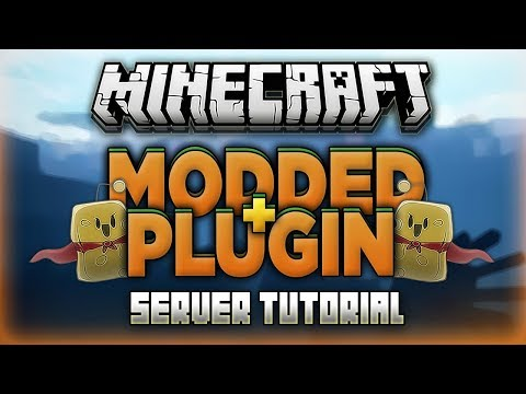 How to Make a MODDED Minecraft Server WITH PLUGINS 2018! (Sponge 1.12.2)