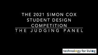2021 Simon Cox Student Design Competition: The Judges