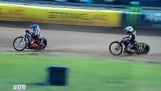 SGP grand prix Teterow Germany 22.09.2018 Crash Maciej Janowski Craig Cook