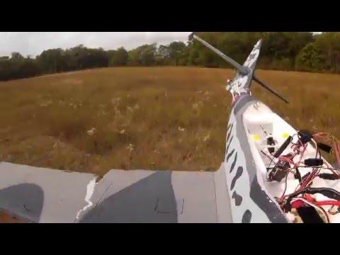 Dynam ME-262 Practice Landing  & Crash