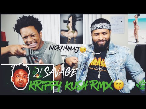 Farruko, Nicki Minaj, Bad Bunny -Krippy Kush (Remix)ft. 21 Savage,Rvssian | FVO Reaction