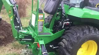 John Deere 2032R Compact Utility Tractor - Самые лучшие видео