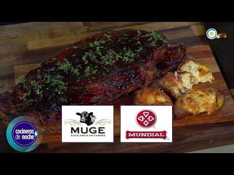 Pechito de cerdo con batatas rellenas Parte 2