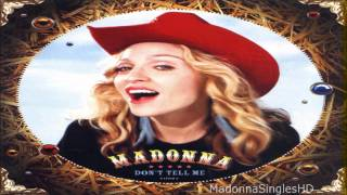 Madonna - Don't Tell Me