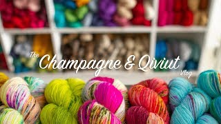 Top Tips For Visiting Yarn Shows  Episode 1  The Champagne And Qiviut Vlog