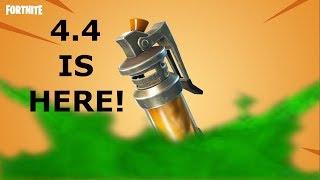 FORTNITE 4.4 info! Close encounters!