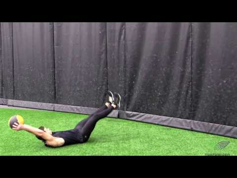 MED BALL - Routine Sit Up Throw